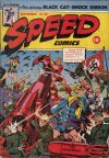 Cover For Speed Comics 34