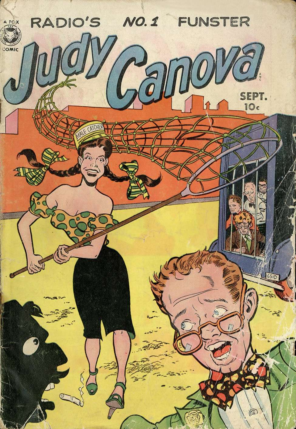 Comic Book Cover For Judy Canova #3