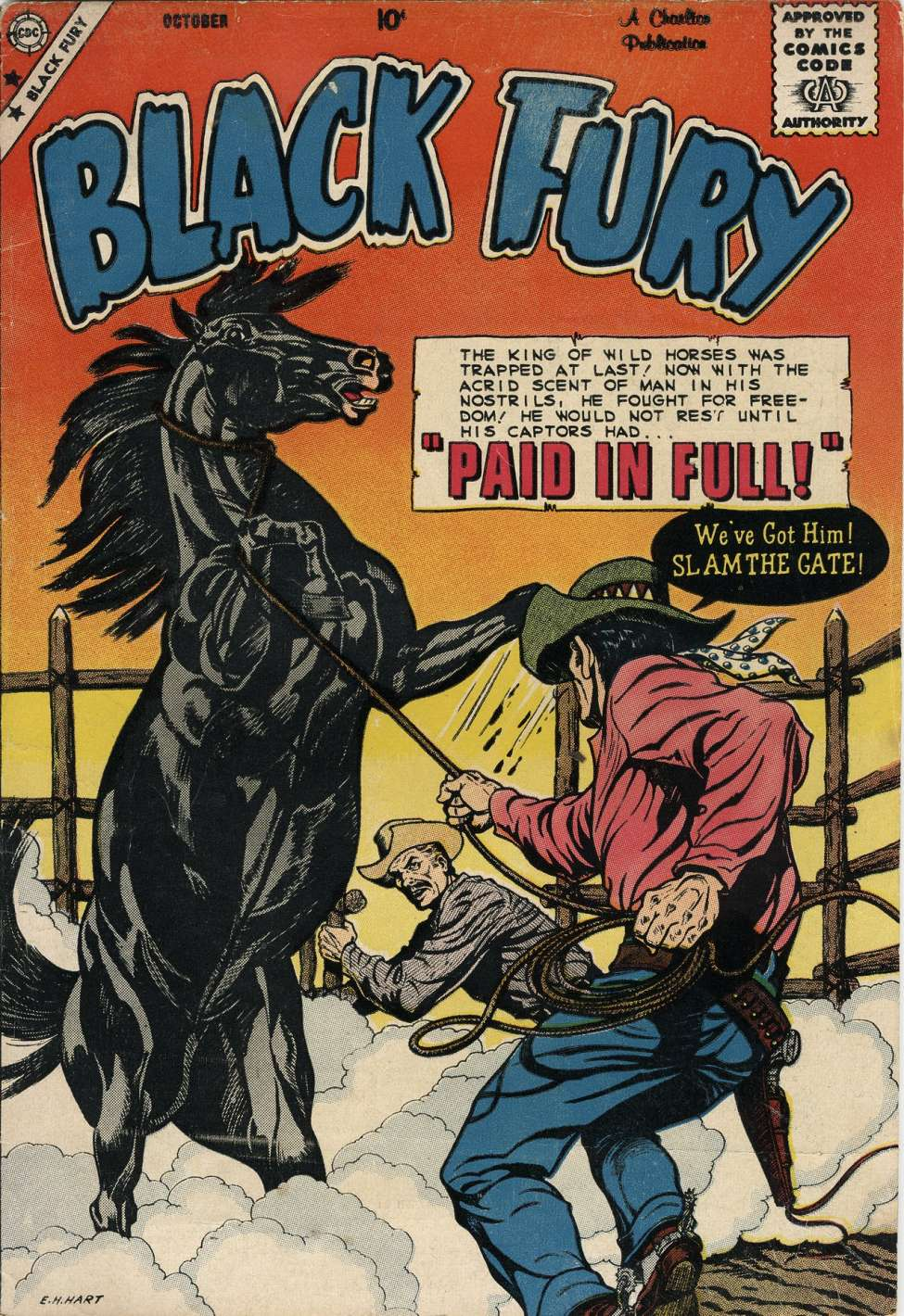Comic Book Cover For Black Fury #21 - Version 2