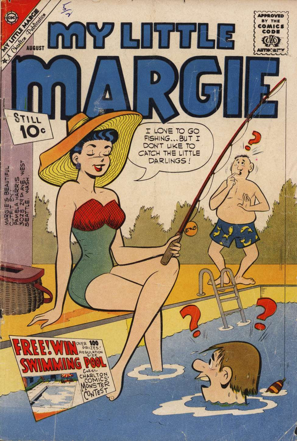 Comic Book Cover For My Little Margie #37