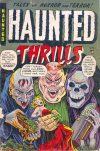 Cover For Haunted Thrills 11