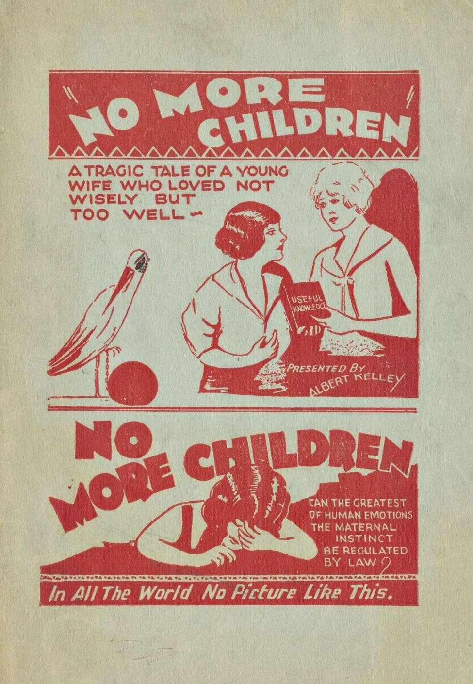 Comic Book Cover For No More Children