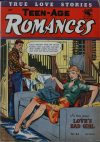 Cover For Teen Age Romances 36