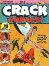 Cover For Crack Comics 6