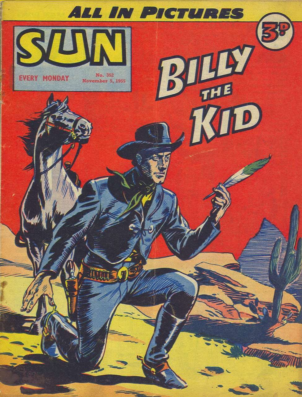 Comic Book Cover For Sun #352