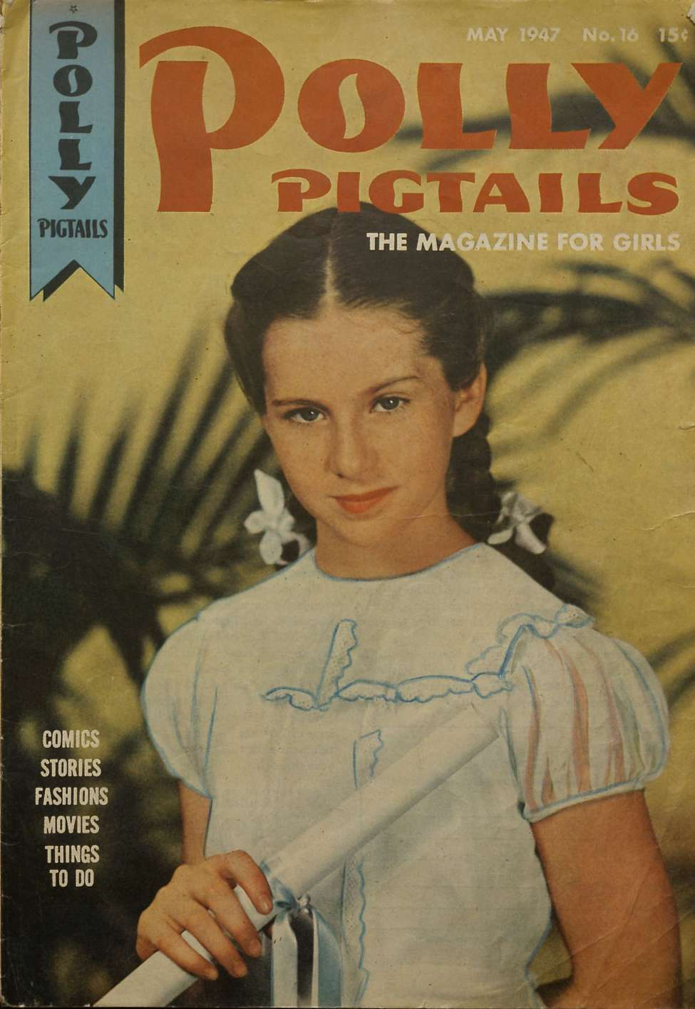 Comic Book Cover For Polly Pigtails #16