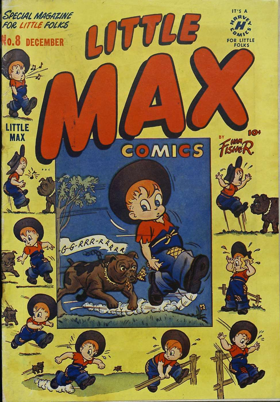 Comic Book Cover For Little Max Comics #8