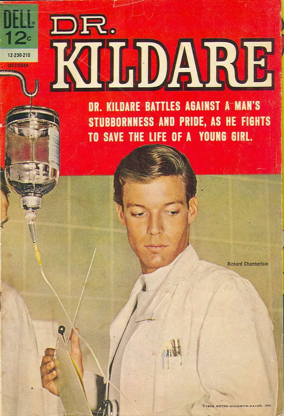 Comic Book Cover For Dr. Kildare #3