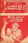 Cover For L'Agent IXE 13 v2 187 Marius devient lutteur