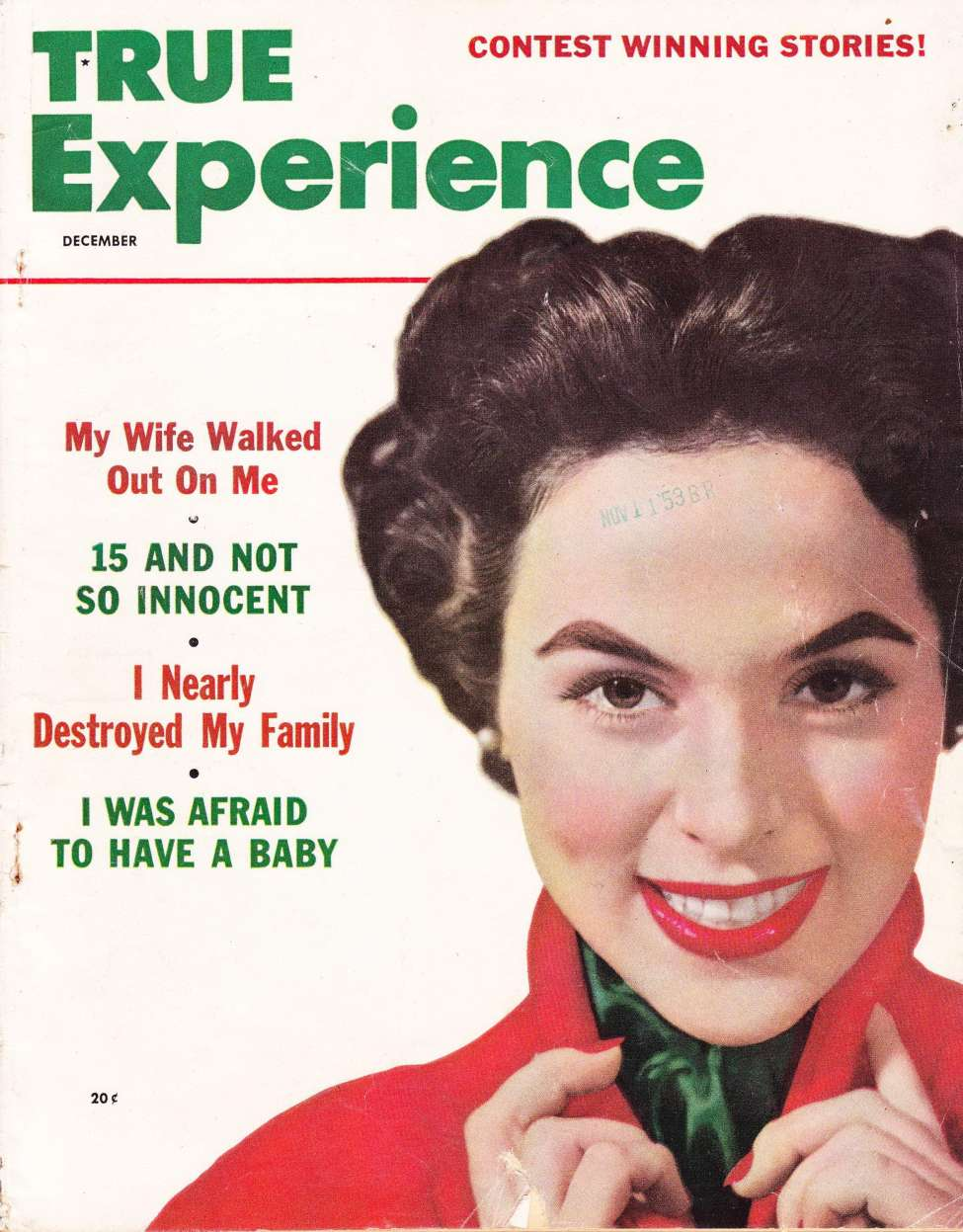 Comic Book Cover For True Experience v54 01