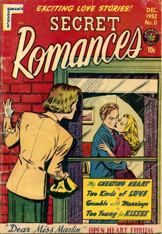 Comic Book Cover For Secret Romances #11