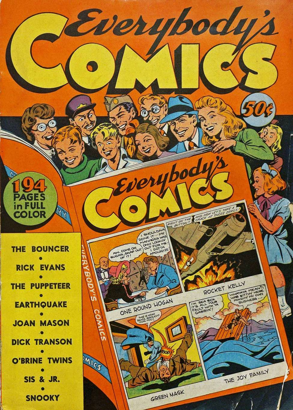 Comic Book Cover For Everybody's Comics [nn] [1944] - Version 1