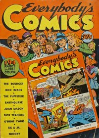Large Thumbnail For Everybody's Comics [nn] [1944] - Version 1