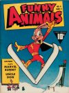 Cover For Fawcett's Funny Animals 4