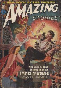 Large Thumbnail For Amazing Stories v26 05 - Empire of Women - John Fletcher