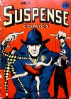 Cover For Suspense Comics 7