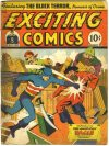 Cover For Exciting Comics 22