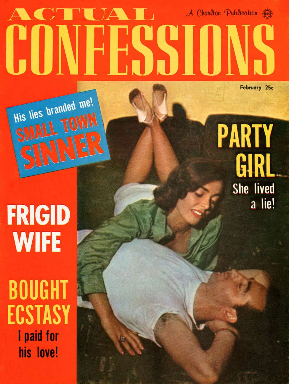 Comic Book Cover For Actual Confessions v3 14