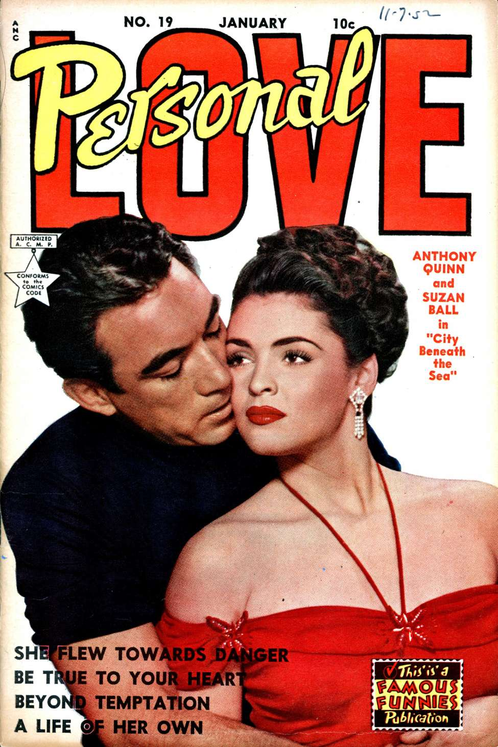 Comic Book Cover For Personal Love #19