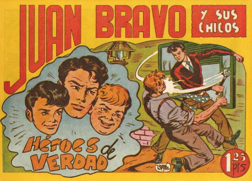 Comic Book Cover For Juan Bravo 03
