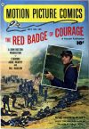 Cover For Motion Picture Comics 105 Red Badge of Courage