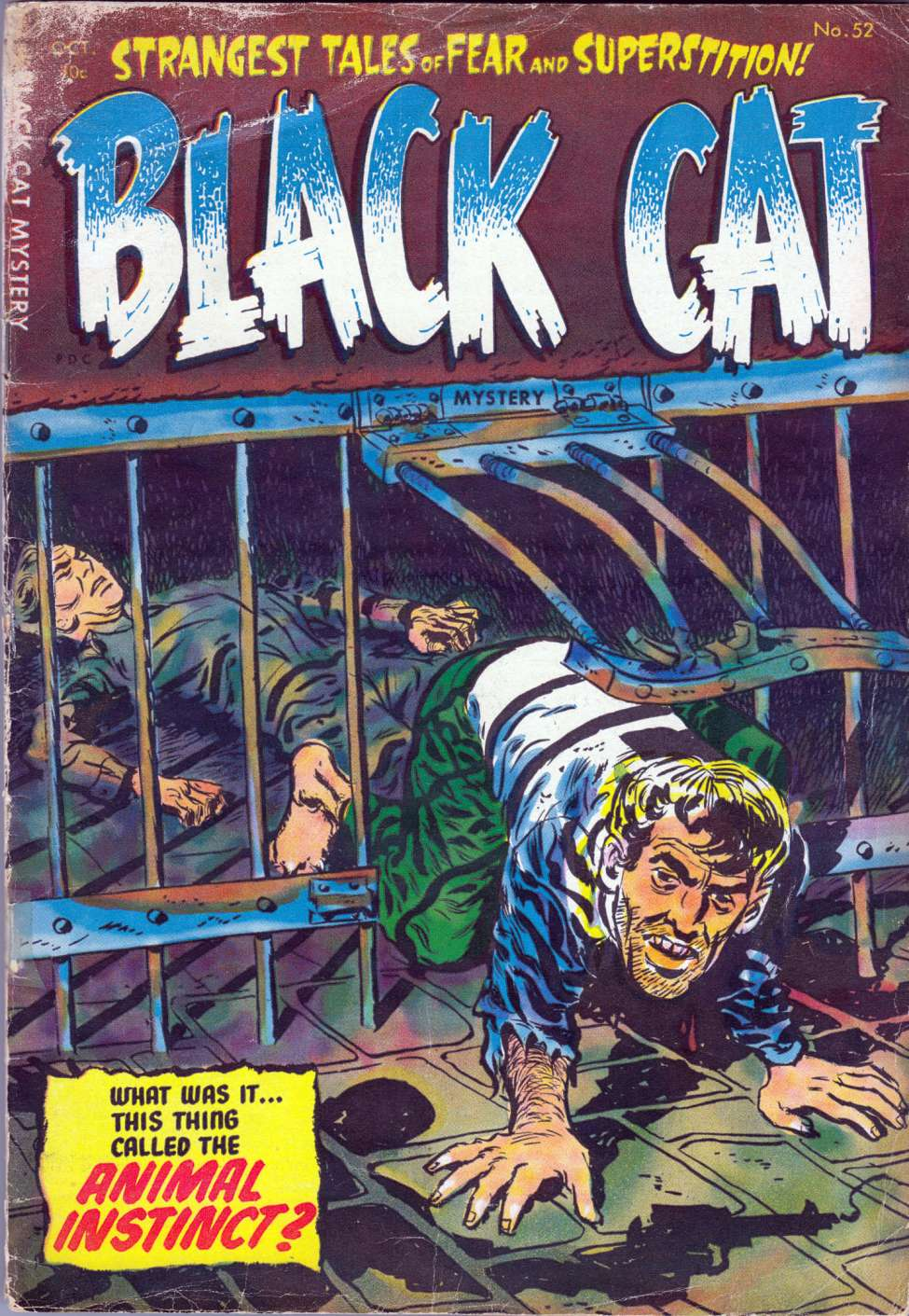 Comic Book Cover For Black Cat #52