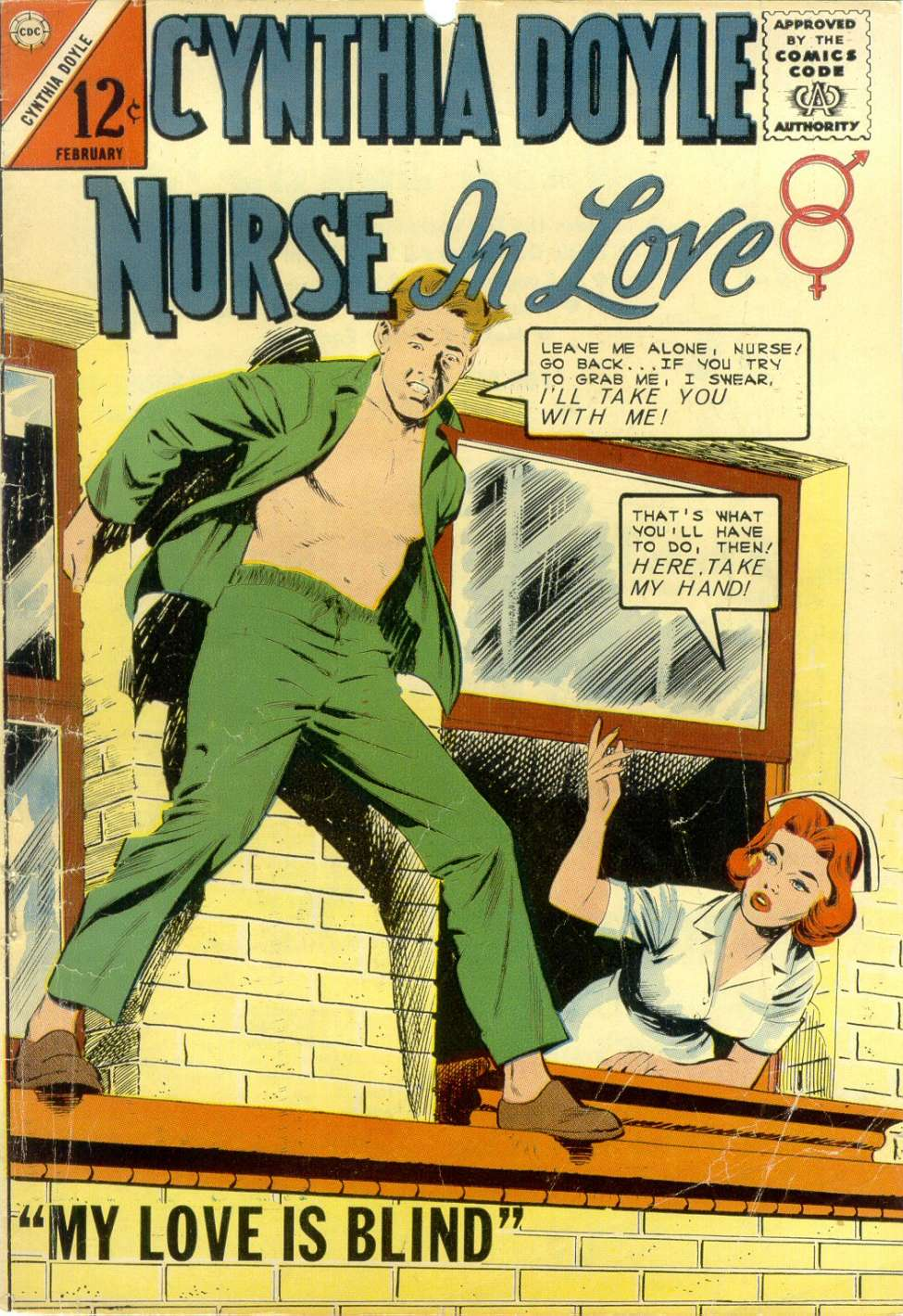 Comic Book Cover For Cynthia Doyle, Nurse in Love #74