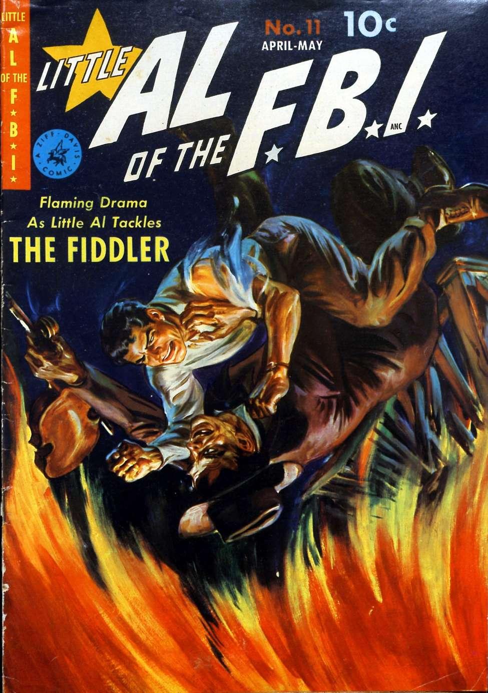 Comic Book Cover For Little Al of the F.B.I. #11 - Version 2