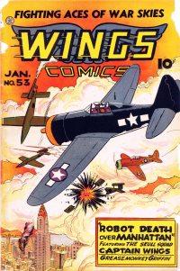 Large Thumbnail For Wings Comics #53