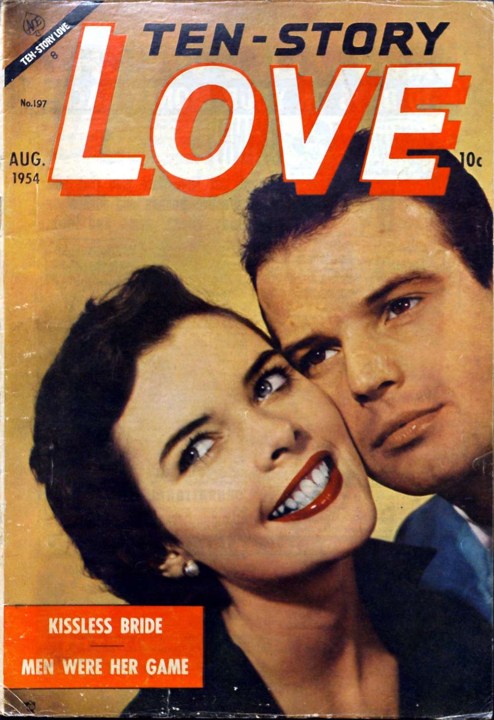 Comic Book Cover For Ten-Story Love v34 5 / 197
