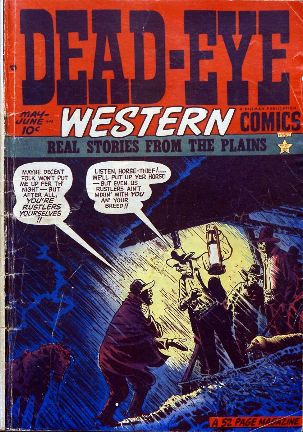 Comic Book Cover For Dead-Eye Western Comics v1 #4 - Version 1