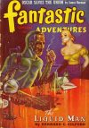 Cover For Fantastic Adventures v3 7 The Liquid Man Bernard C. Gilford