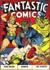 Cover For Fantastic Comics 8
