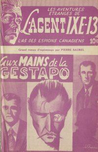 Large Thumbnail For L'Agent IXE-13 v1 003 - Aux mains de la Gestapo