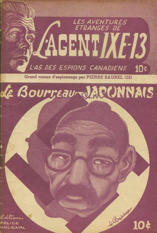 Comic Book Cover For L'Agent IXE-13 v2 015 - Le bourreau japonais
