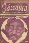 Cover For L'Agent IXE 13 v2 15 Le bourreau japonais