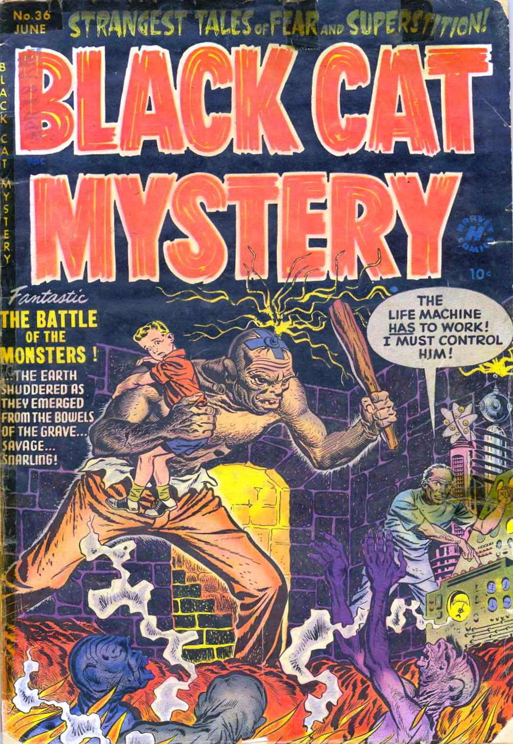 Comic Book Cover For Black Cat #36