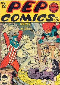 Large Thumbnail For Pep Comics #12