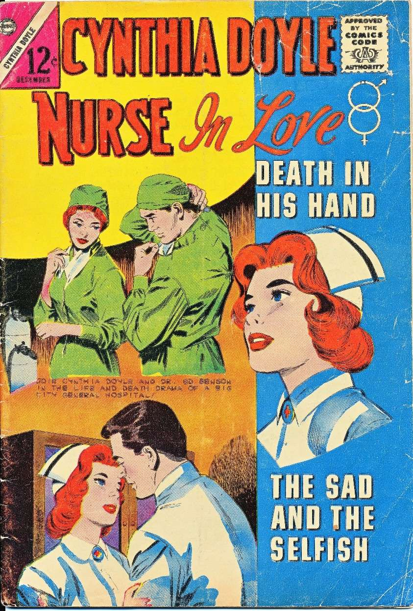 Comic Book Cover For Cynthia Doyle, Nurse in Love #73