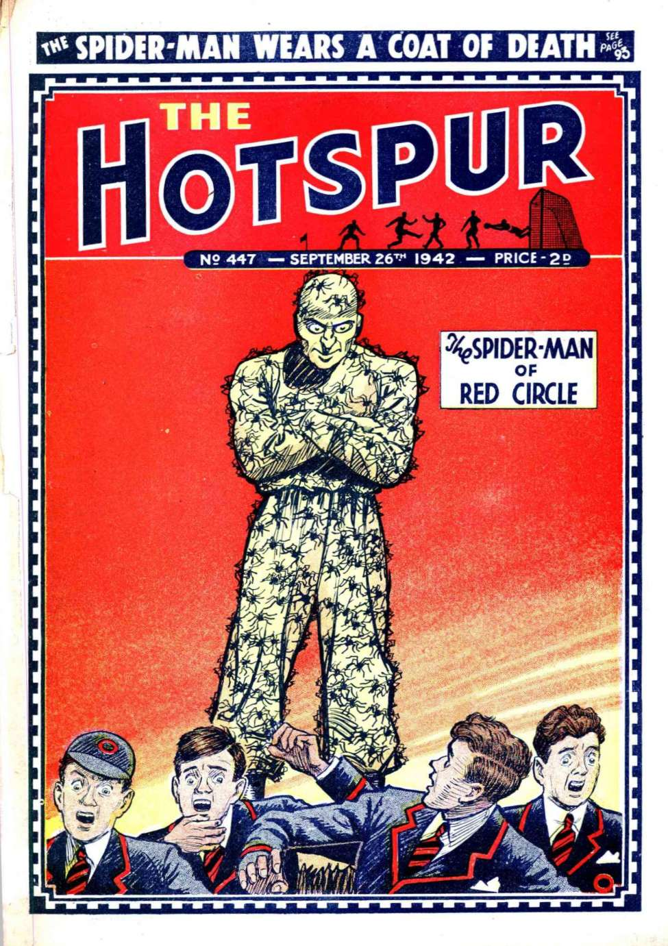 Comic Book Cover For The Hotspur 0447