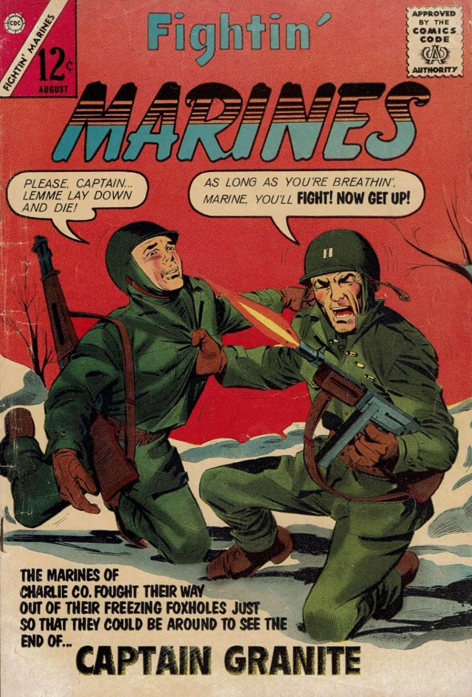 Comic Book Cover For Fightin' Marines #54
