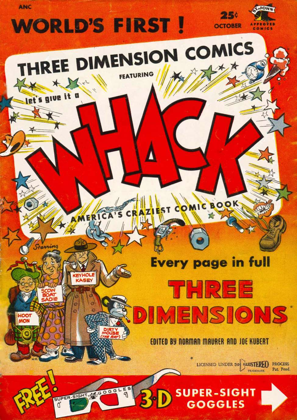 Comic Book Cover For Whack #1 - Version 2