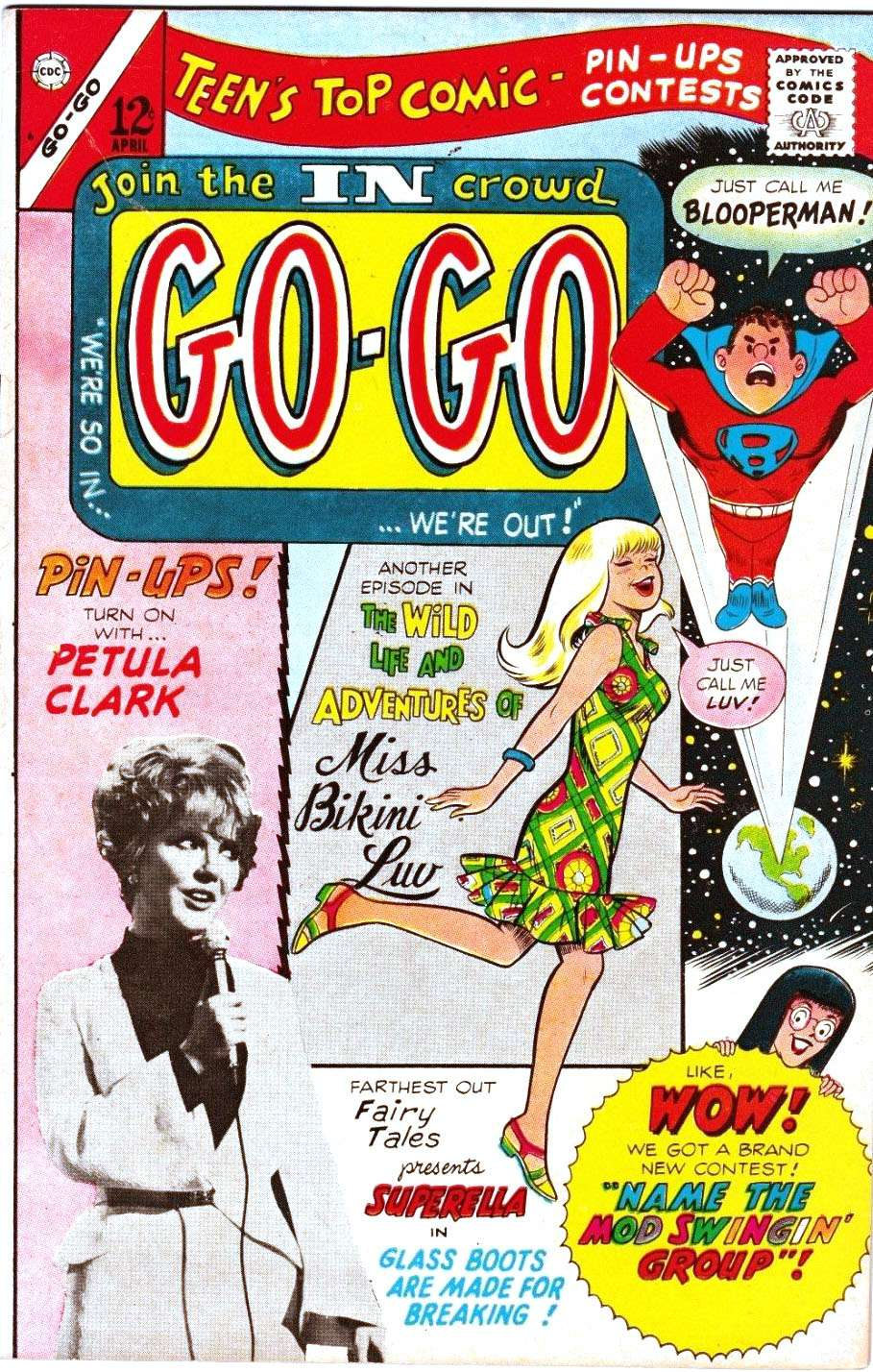 Comic Book Cover For Go-Go #6 - Version 2
