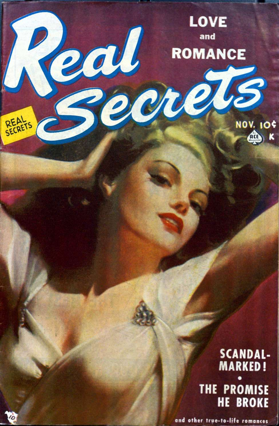 Comic Book Cover For Real Secrets 02