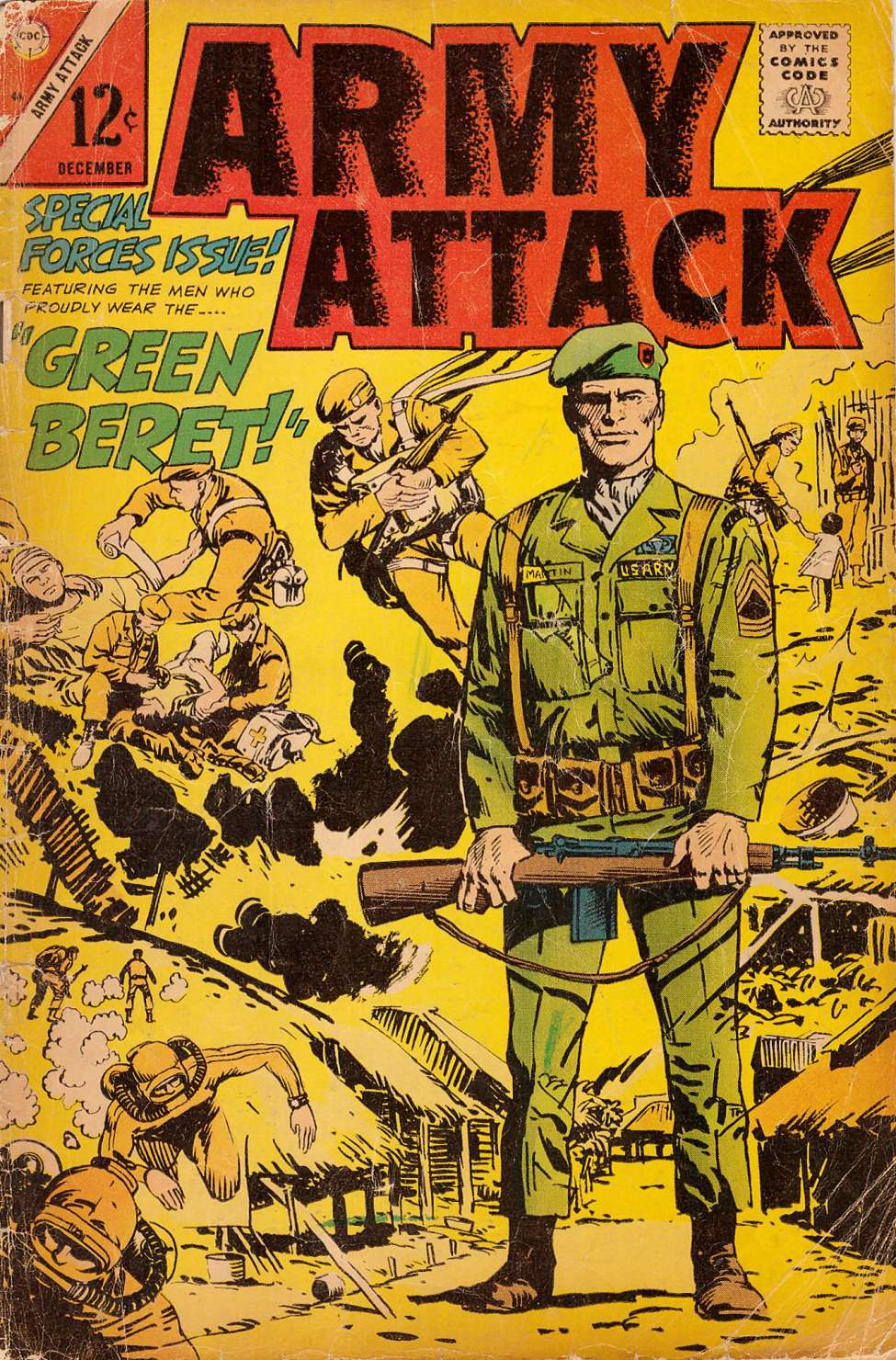 Comic Book Cover For Army Attack #46