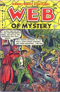 Large Thumbnail For Web of Mystery #13