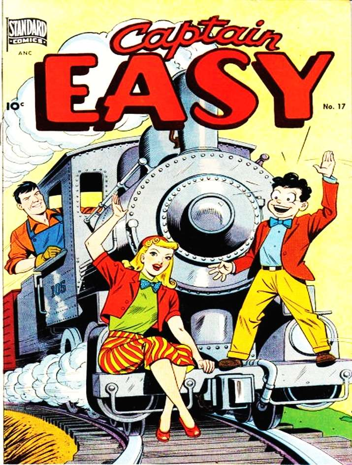 Simple Comic Book Covers ~ Captain easy better nedor standard pines