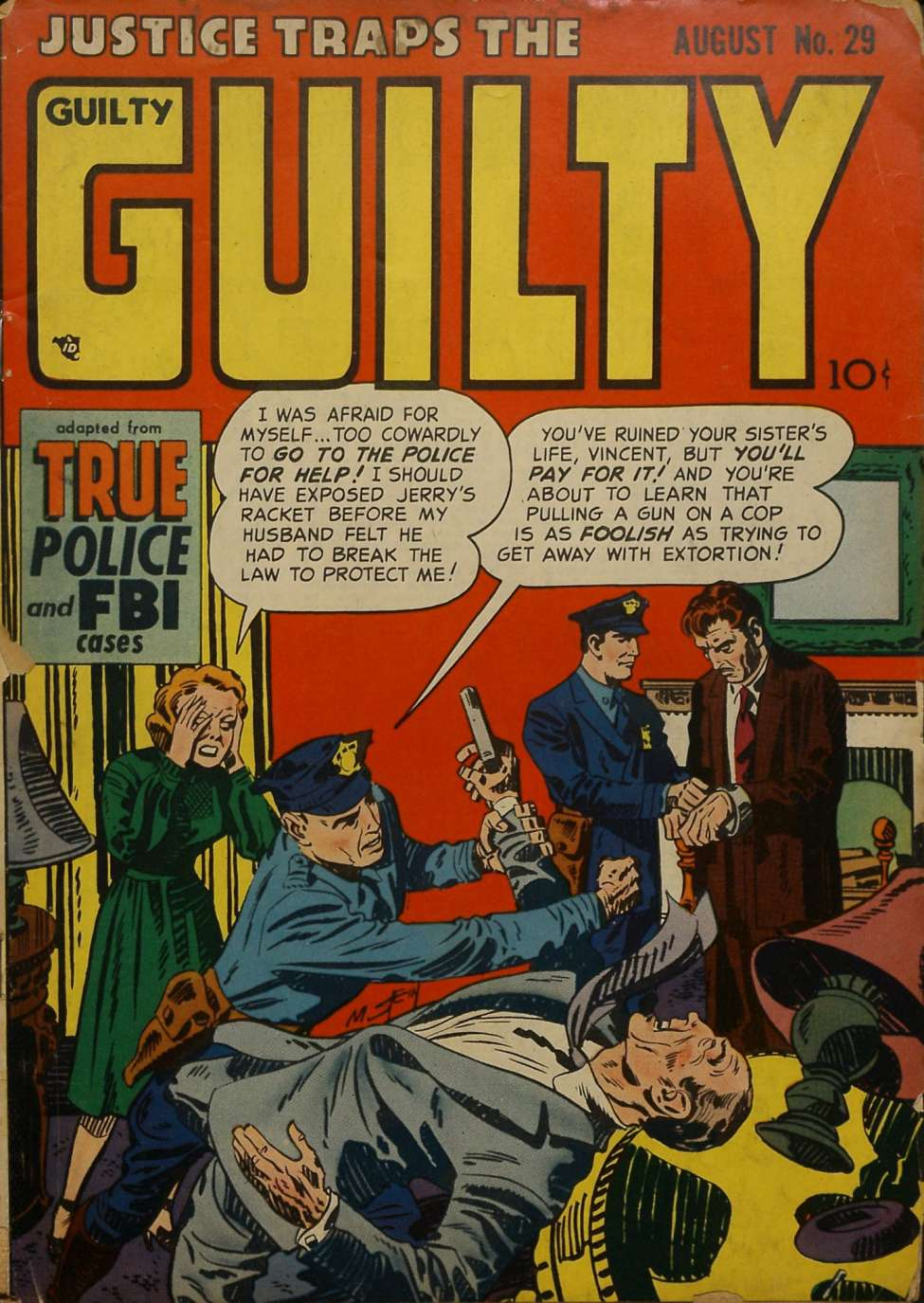 Comic Book Cover For Justice Traps the Guilty v4 11 (29)