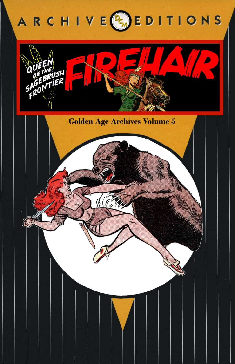 Comic Book Cover For Firehair Golden Age Archives V5