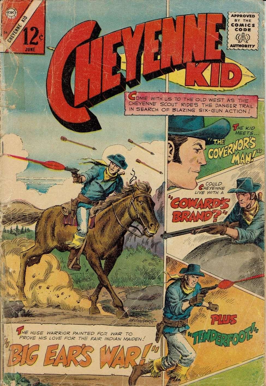 Comic Book Cover For Cheyenne Kid #56